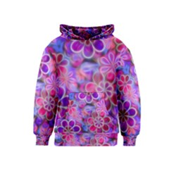Pretty Floral Painting Kid s Pullover Hoodies