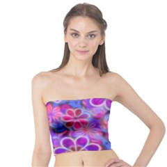 Pretty Floral Painting Women s Tube Tops
