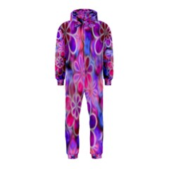 Pretty Floral Painting Hooded Jumpsuit (Kids)