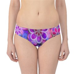 Pretty Floral Painting Hipster Bikini Bottoms