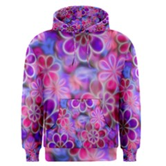 Pretty Floral Painting Men s Pullover Hoodies