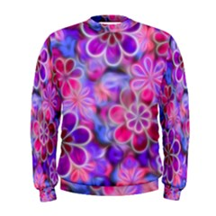 Pretty Floral Painting Men s Sweatshirts