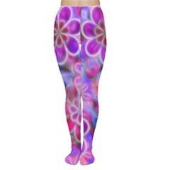 Pretty Floral Painting Women s Tights