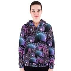 Stunning Sea Shells Women s Zipper Hoodies