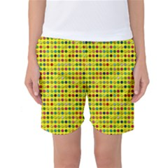 Multi Col Pills Pattern Women s Basketball Shorts