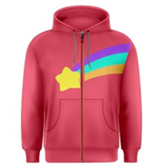 Shooting Star Men s Zipper Hoodies