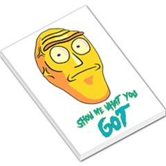 Show Me What You Got New Fresh Large Memo Pads