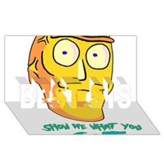 Show Me What You Got New Fresh BEST SIS 3D Greeting Card (8x4)