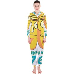 Show Me What You Got New Fresh Hooded Jumpsuit (Ladies)