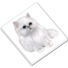 White Persian Cat Clipart Small Memo Pads