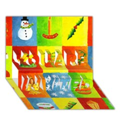 Christmas Things YOU ARE INVITED 3D Greeting Card (7x5)