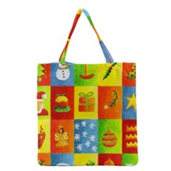 Christmas Things Grocery Tote Bags