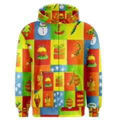 Christmas Things Men s Zipper Hoodies
