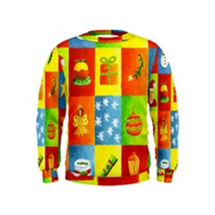 Christmas Things Boys  Sweatshirts