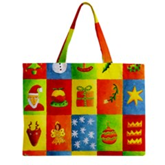 Christmas Things Zipper Tiny Tote Bags
