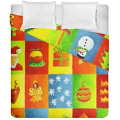 Christmas Things Duvet Cover (double Size)