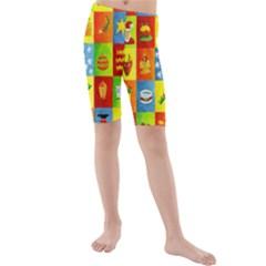 25 Xmas Things Kid s swimwear
