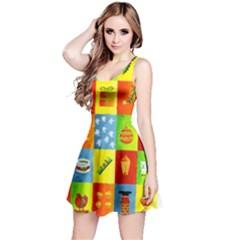 25 Xmas Things Reversible Sleeveless Dresses