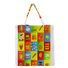 25 Xmas Things Grocery Tote Bags