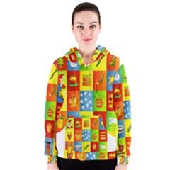 25 Xmas Things Women s Zipper Hoodies