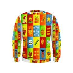 25 Xmas Things Boys  Sweatshirts