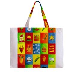 25 Xmas Things Zipper Tiny Tote Bags
