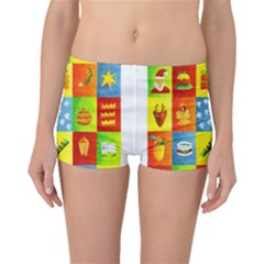 25 Xmas Things Boyleg Bikini Bottoms