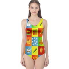 25 Xmas Things Women s One Piece Swimsuits