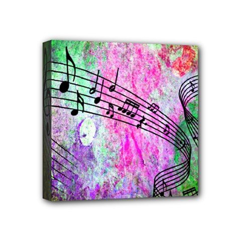 Abstract Music 2 Mini Canvas 4  X 4