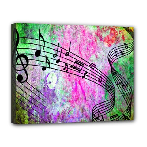 Abstract Music 2 Canvas 14  X 11