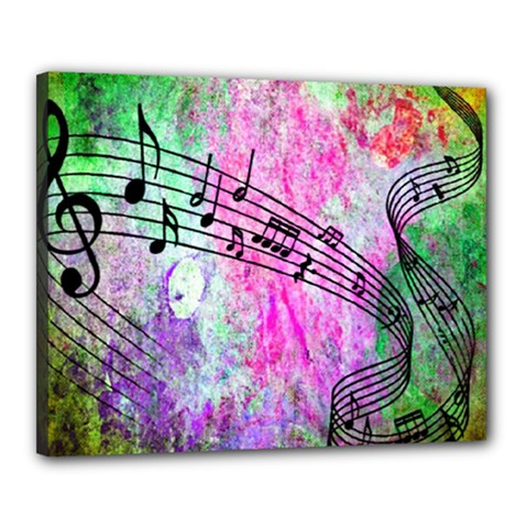 Abstract Music 2 Canvas 20  X 16