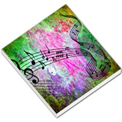 Abstract Music 2 Small Memo Pads