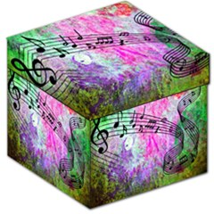 Abstract Music 2 Storage Stool 12