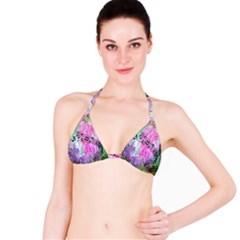 Abstract Music 2 Bikini Tops