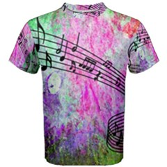 Abstract Music 2 Men s Cotton Tees