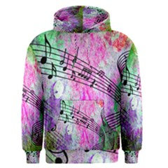 Abstract Music 2 Men s Pullover Hoodies