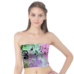 Abstract Music 2 Women s Tube Tops