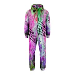 Abstract Music 2 Hooded Jumpsuit (kids)