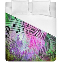 Abstract Music 2 Duvet Cover Single Side (double Size)