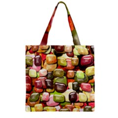 Stones 001 Grocery Tote Bags
