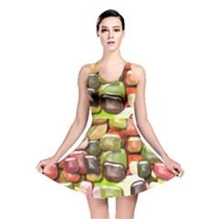 Stones 001 Reversible Skater Dresses