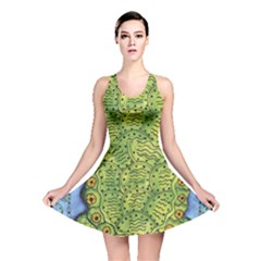 Turtle Reversible Skater Dresses