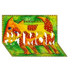 Spotty Dog #1 MOM 3D Greeting Cards (8x4)