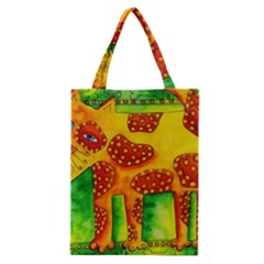 Spotty Dog Classic Tote Bags