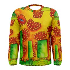 Spotty Dog Men s Long Sleeve T-shirts