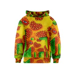 Spotty Dog Kid s Pullover Hoodies