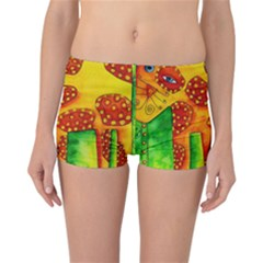 Spotty Dog Reversible Boyleg Bikini Bottoms