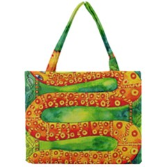 Patterned Snake Tiny Tote Bags