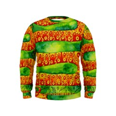 Patterned Snake Boys  Sweatshirts