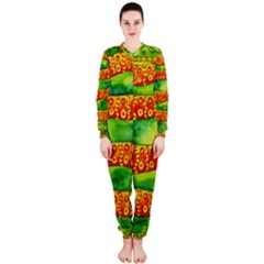 Patterned Snake OnePiece Jumpsuit (Ladies)